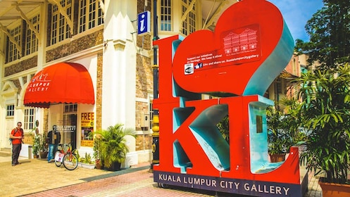 Exterior view of Kuala Lumpur art gallery.