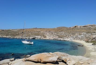 Semi-Private Sailing Cruise to Rhenia & Guided Tour of Delos