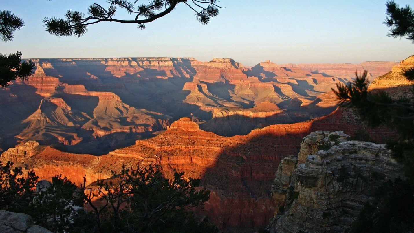 Grand Canyon at sunset in Arizona