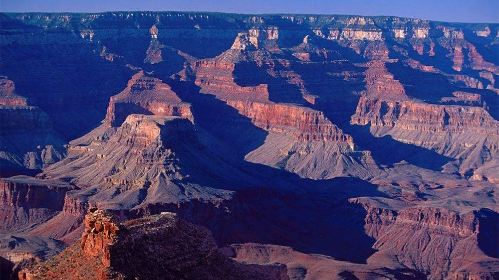 Grand Canyon at dusk in Arizona