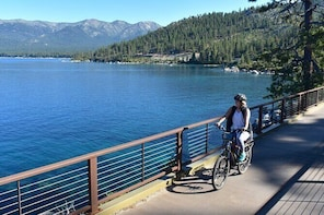 Full-Day Bike Rental in Lake Tahoe | Breathtaking Coastal Rides