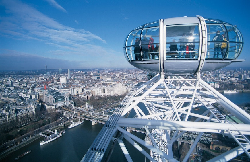 Show item 1 of 10. Best of London Tour with London Eye & Thames Cruise