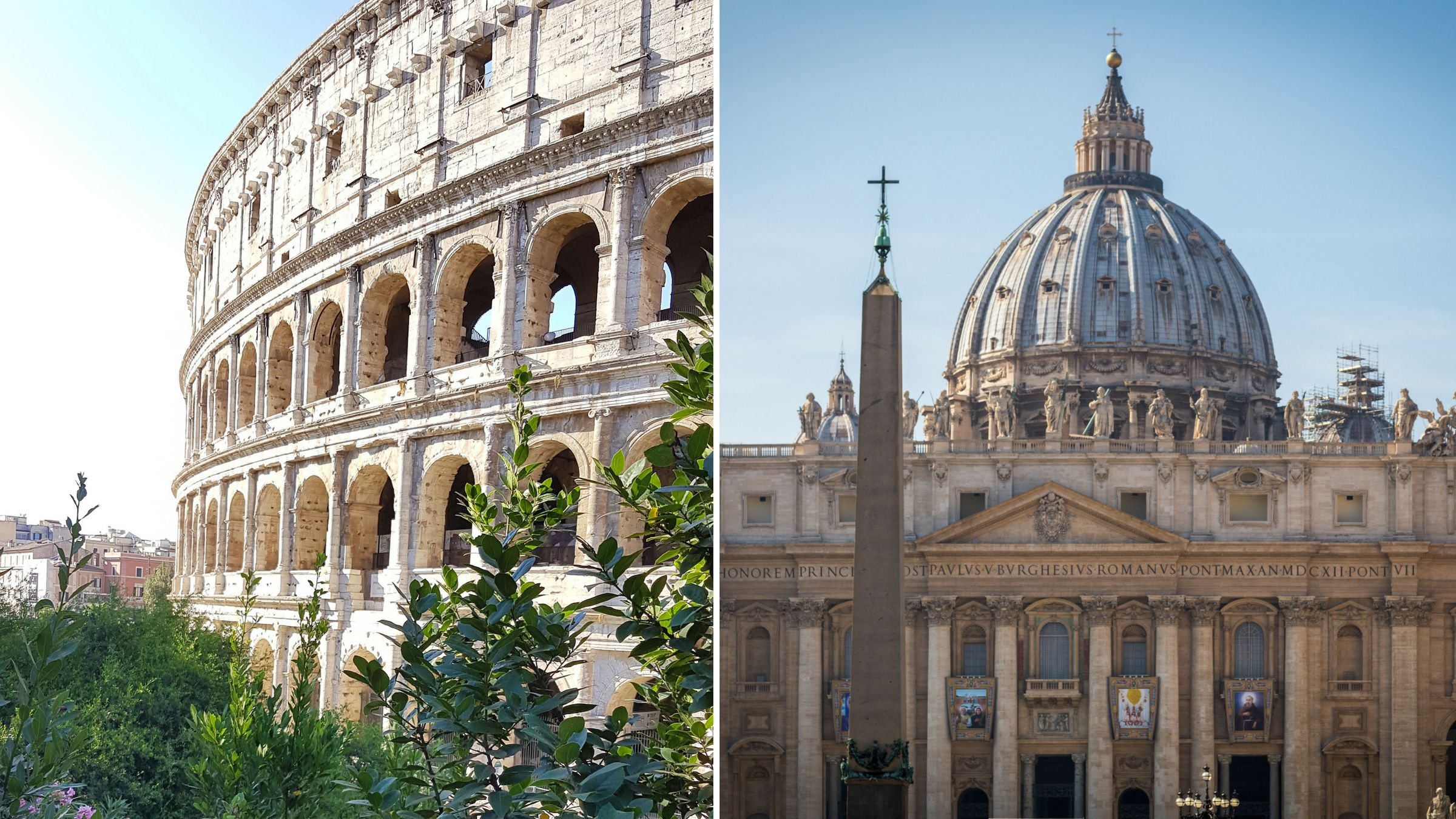 Vatican & Colosseum: Skip-the-Line Combo Saver Tour