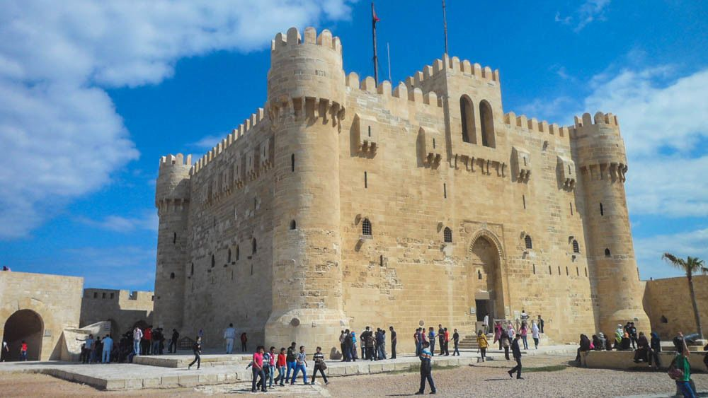 Ancient castle in Alexandria.