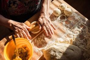 Lezione di Ravioli liguri a casa dello chef