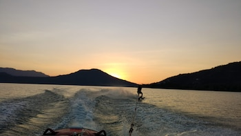 From Mexico City: Private Valle de Bravo, quad bike & Water Skiing