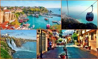 Private Antalya City Tour 1-6 Passengers