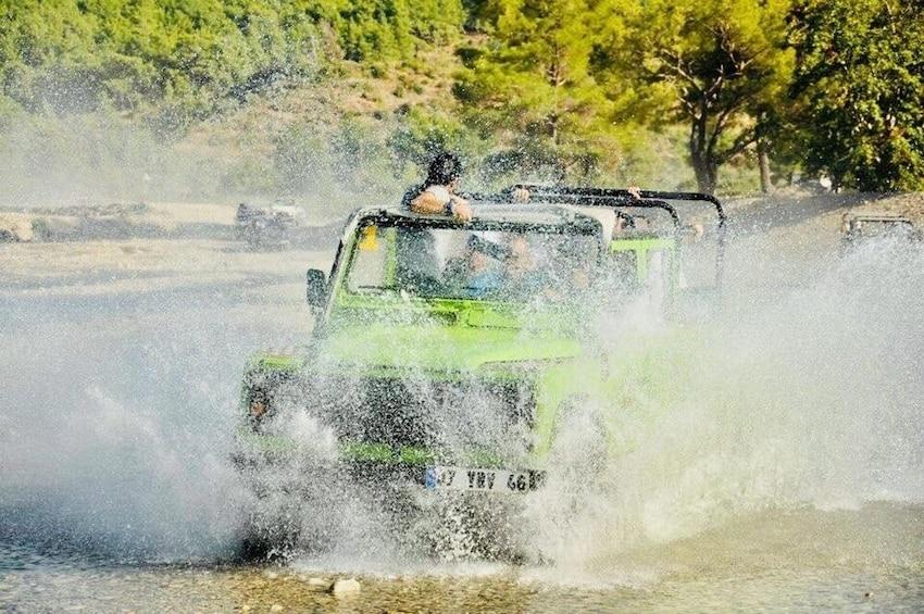 Show item 2 of 4. Jeep Safari Adventure Belek / Lara / Antalya Hotels