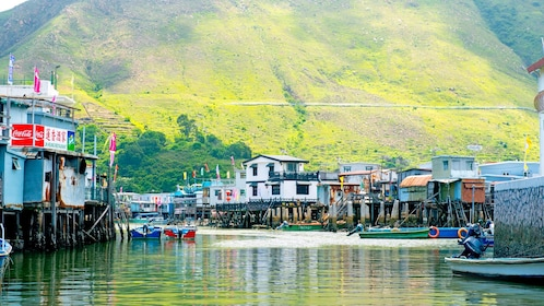 old town on water in Cheung Chau Island