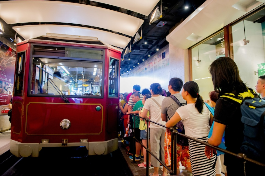 Show item 5 of 10. Skip-the-Line The Peak Tram & Hong Kong Morning Island Tour