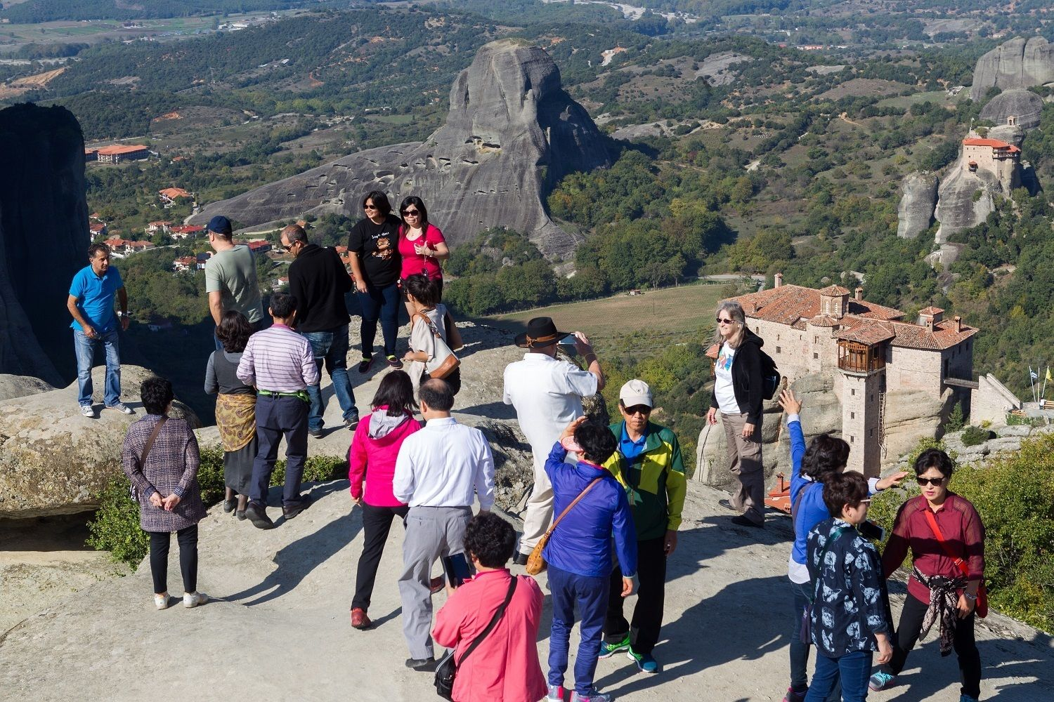 Meteora Day Trip from Athens via Train