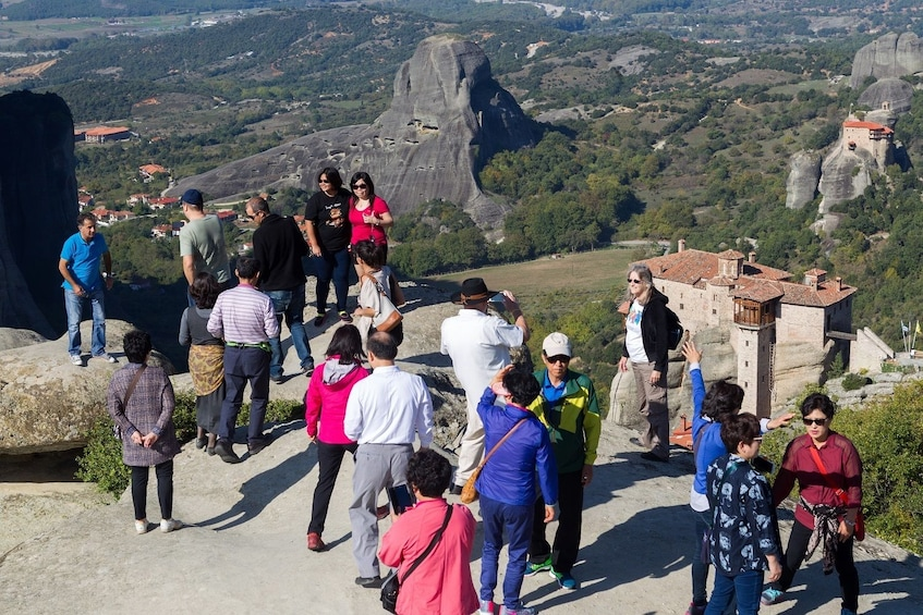 Show item 1 of 10. Meteora Full-Day Trip from Athens via Scenic Train