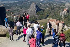 Ganztagesausflug nach Metéora – Malerische Zugfahrt ab Athen