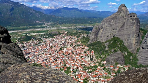 a valley town in Athens
