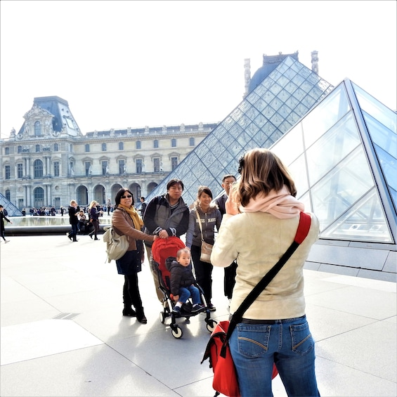 Show item 1 of 8. Louvre Museum Guided Tour with Skip-the-Line Tickets