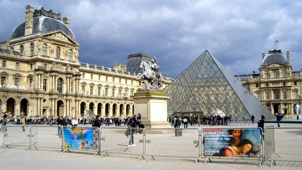 Show item 8 of 8. visiting the Louvre in Paris