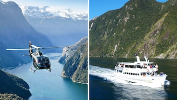 Milford Sound Helicopter & Cruise with Alpine landing