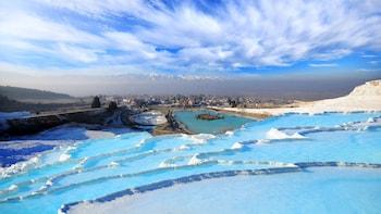 Pamukkale Hot Springs & Hierapolis Day Trip by Plane