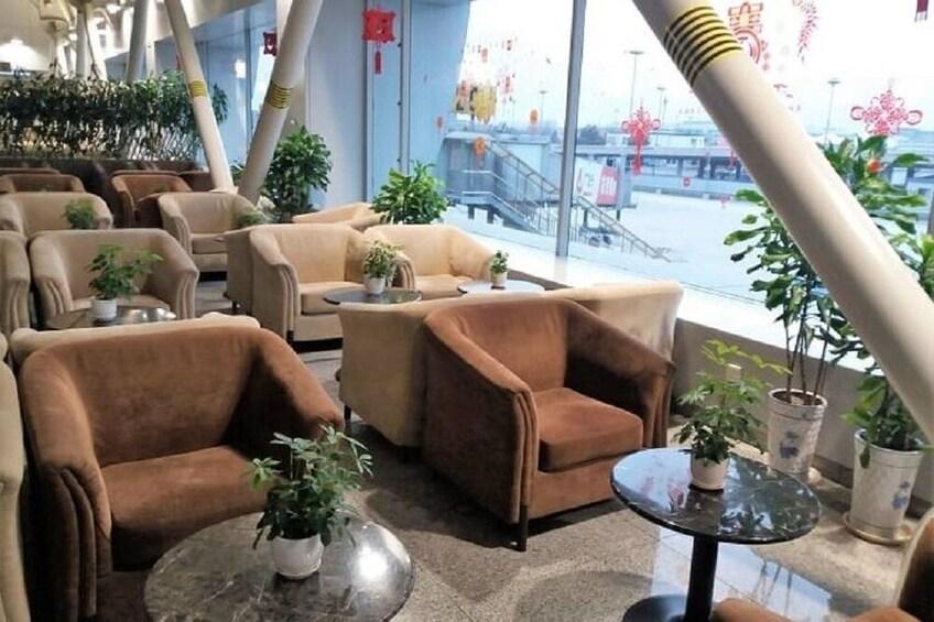BGS PREMIER LOUNGE At Beijing Capital International Airport