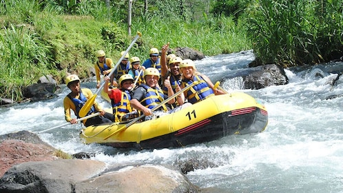 Rafting 5km, Zip Line 18 Station and Jungle Tour From Phuket