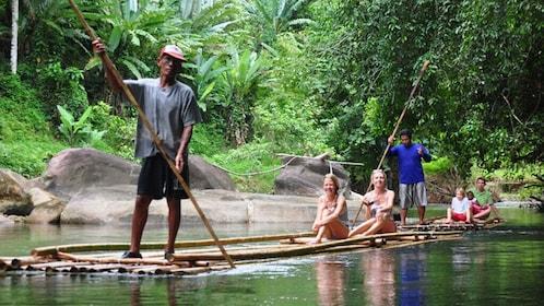 Bamboo Rafting, ATV Riding and Jungle Tour From Phuket