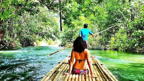 Bamboo Rafting and 5 km White Water Rafting Tour From Phuket