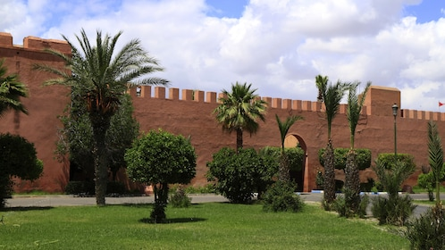 Old City Wall Gate Marrakech