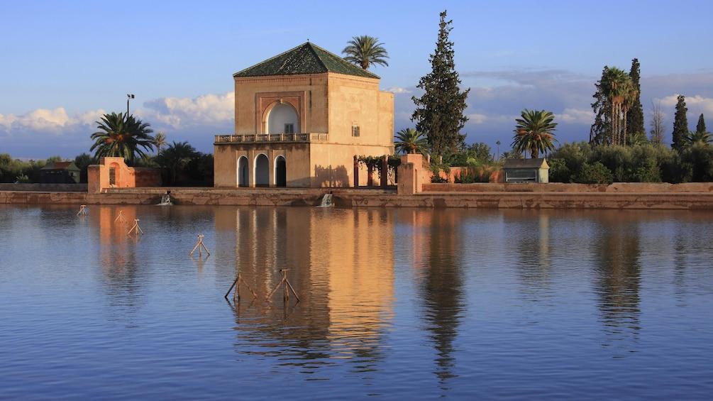 The Menara gardens