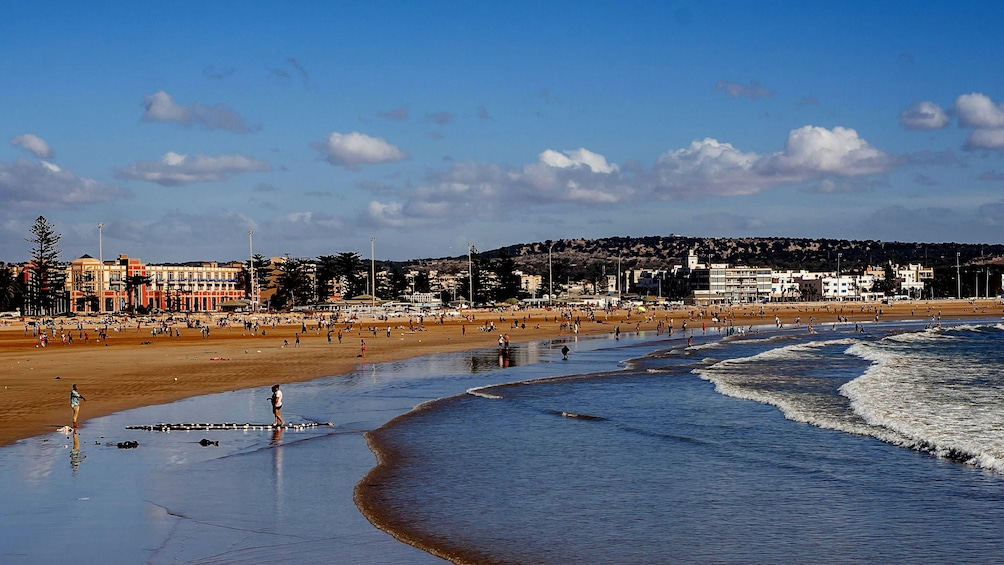 A beach in Essaouira, Morocco