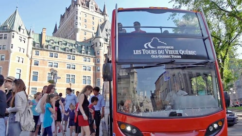 Le Bus Rouge Hop on Hop Off Quebec tour