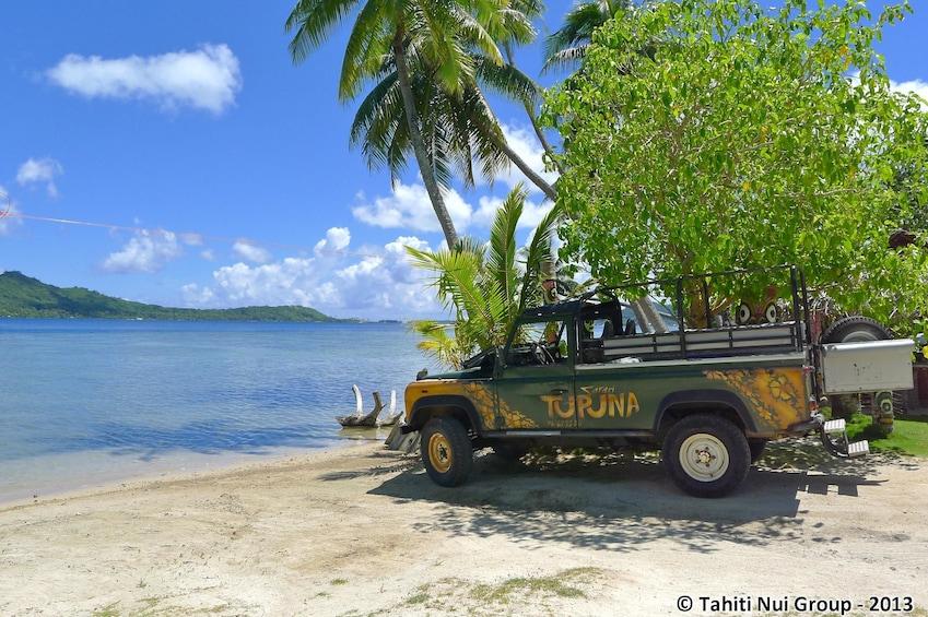 Show item 5 of 5. Half day 4WD Safari in Bora Bora