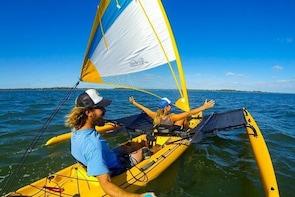Sailing Kayak Adventure through the Peel Harvey Estuary
