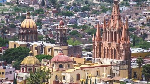 Aerial view of San Miguel.