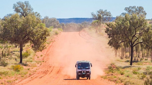 Jeep tour of Alice Springs
