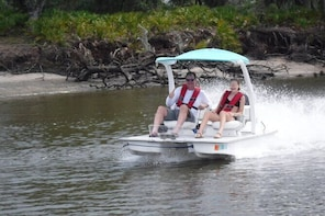 Drive your Own 2 Seat Catamaran Adventure in Marco Island