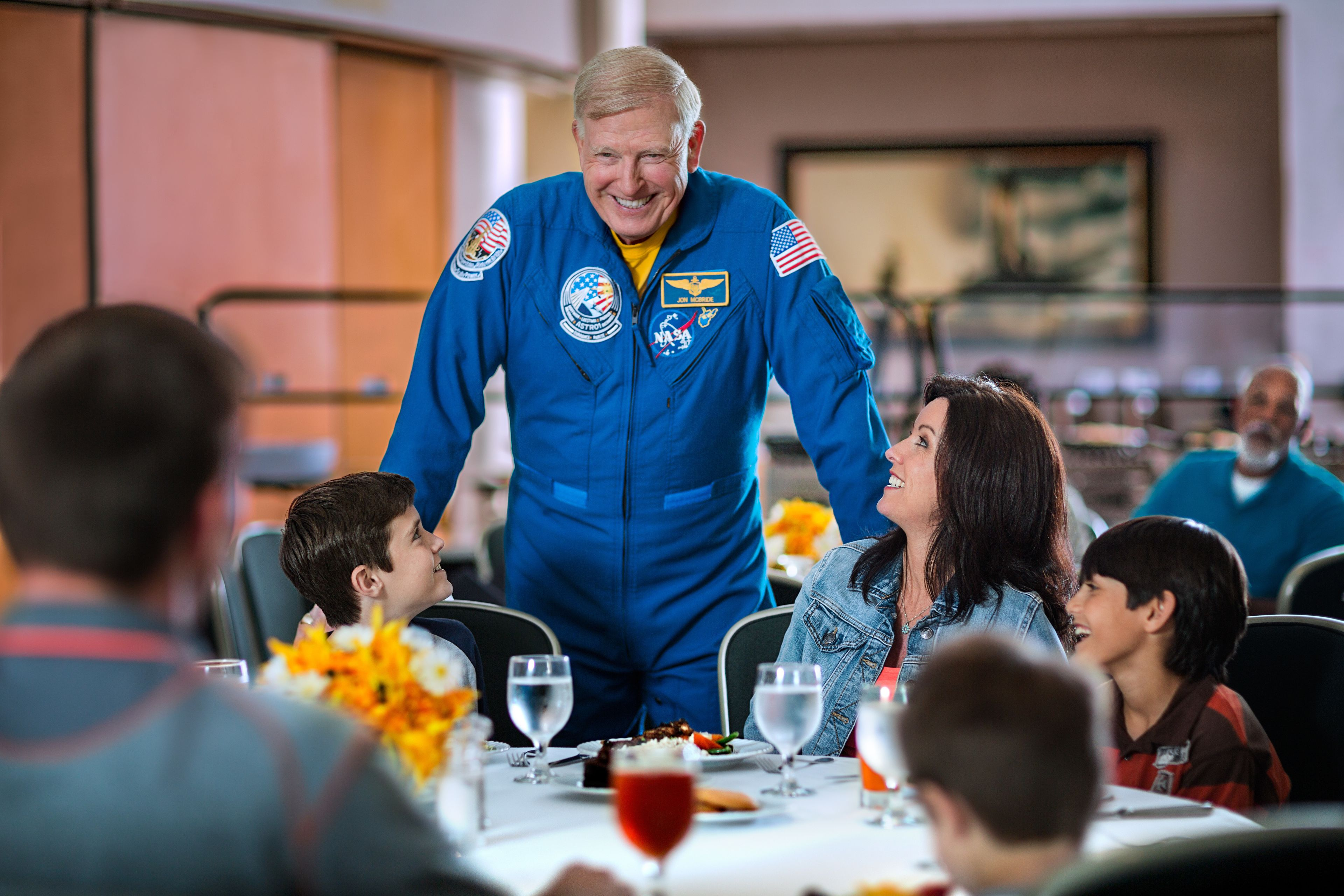Kennedy Space Center Dine with an Astronaut Experience with Transportation