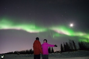 Aurora Exploring & Northern Lights Viewing Tour with Photo & Pick up Servic...