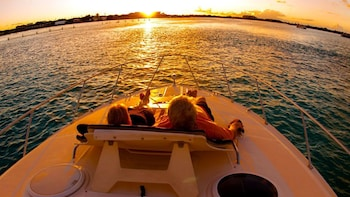 Private Sunset Boat Tour with Water Activities