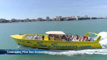 Sea Screamer in Clearwater Beach & Lunch with Transport