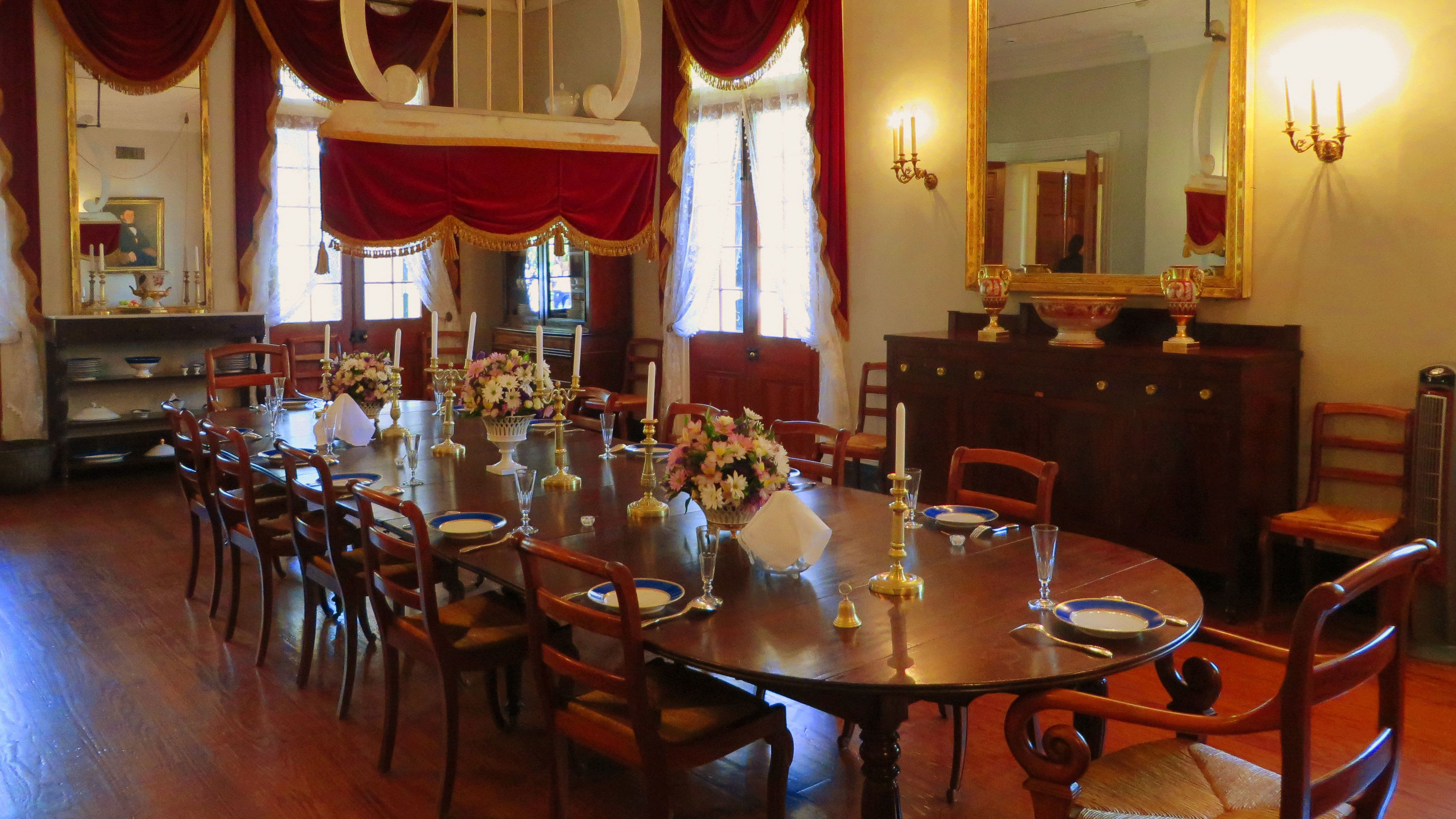 interior dining area in new orleans