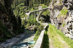 Private gorges, waterfalls, lakes and glacier mills tour
