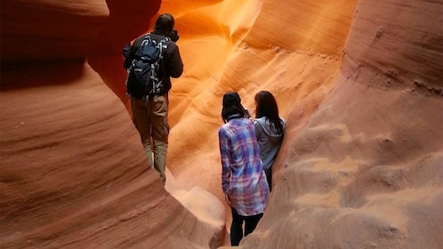 Group on the Antelope Canyon Tour & Horseshoe Bend in Sedona