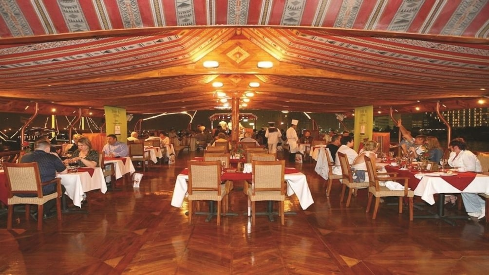 Show item 8 of 8. Dhow Cruise at Dubai Creek with Dinner with Gray Line