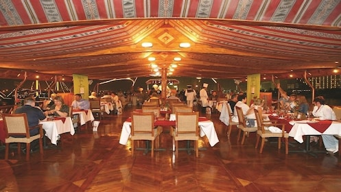 Dhow Cruise at Dubai Creek with Dinner with Gray Line