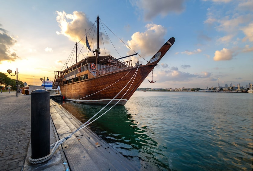 Dhow Cruise at Dubai Creek & Transfers with Gray Line