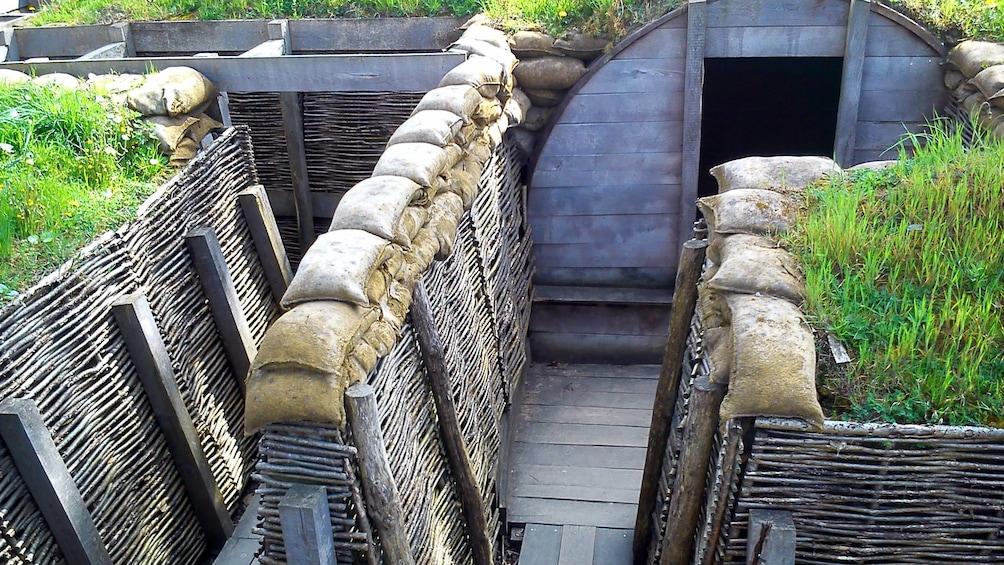 Charger l'élément 1 sur 5. WWI trenches in Belgium