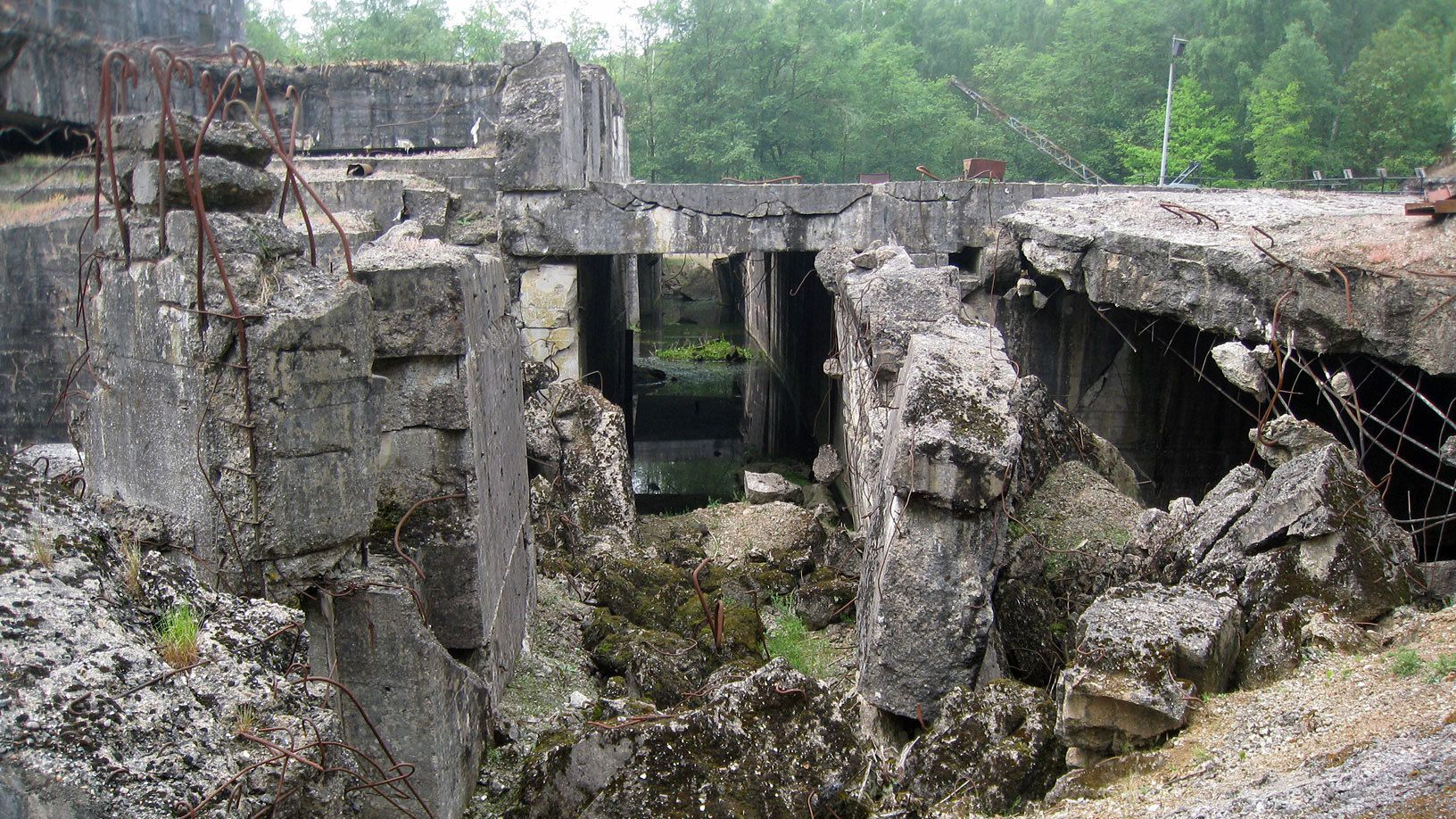Cement ruins