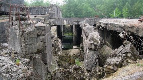 Cement ruins