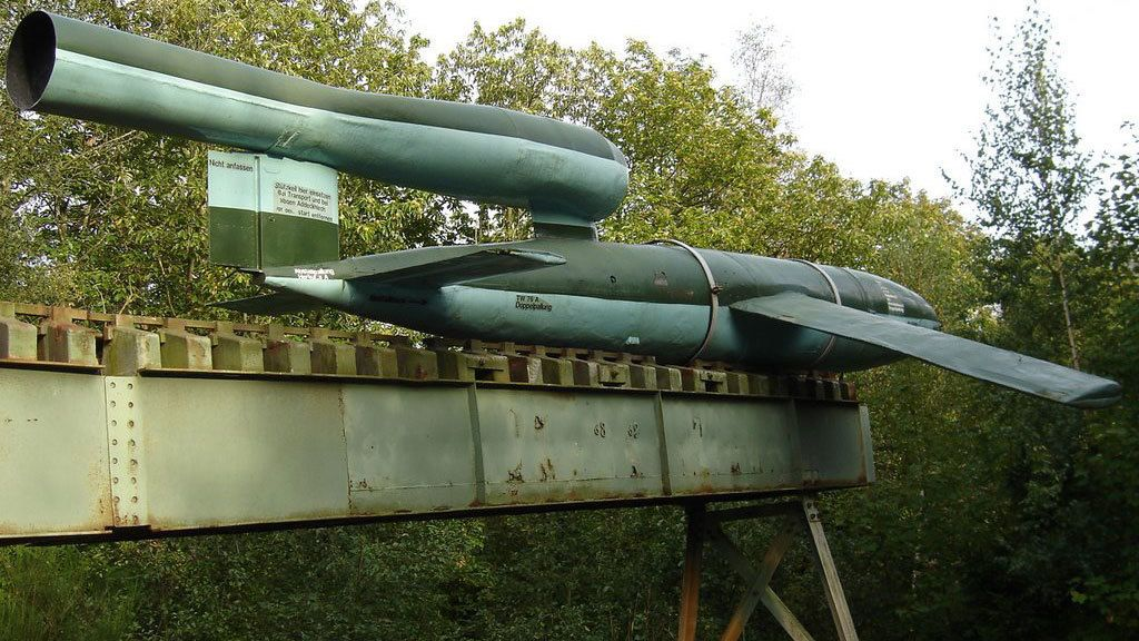 WW1 military rocket launcher