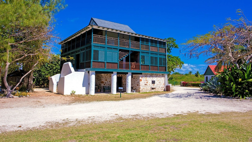 a small building at the Cayman Islands